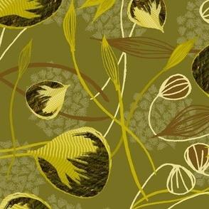 Kijani Manjano Decadent Moss