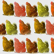 Pop-art chicken