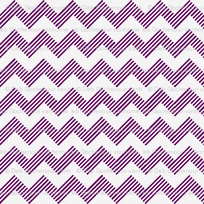 zipzag violet wht