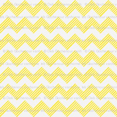 zipzag yellow wht