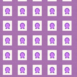 chevron_hippo mini cheater quilt