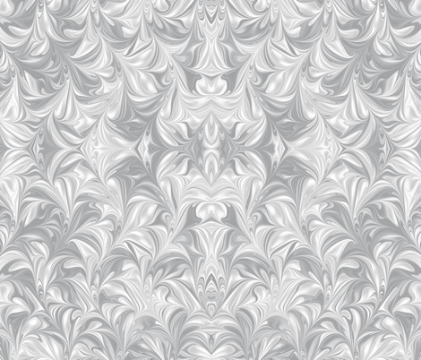 Ash-PSwirl fabric by modernmarblingdesign on Spoonflower - custom fabric