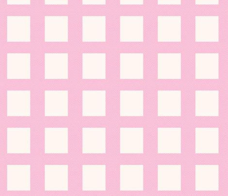 chevron_pink mini cheater quilt  fabric by vos_designs on Spoonflower - custom fabric