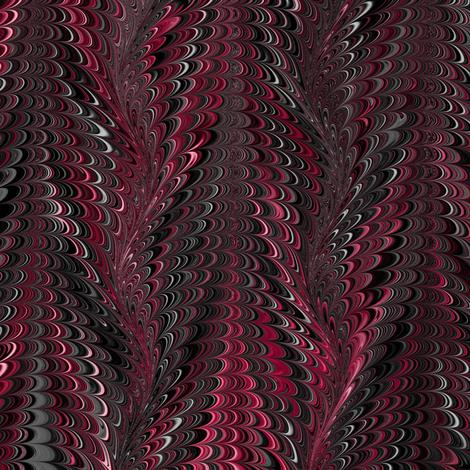 RedBlack-Icarus fabric by modernmarblingdesign on Spoonflower - custom fabric