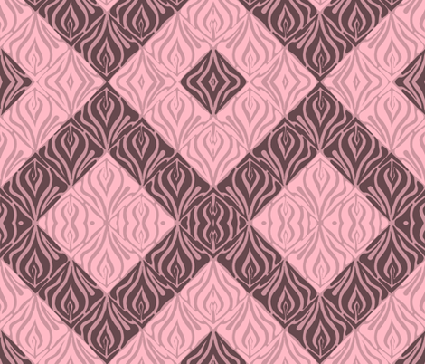 Flame Pattern - mirror fabric by martaharvey on Spoonflower - custom fabric