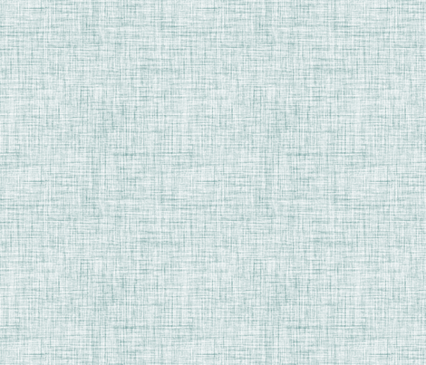 Teal burlap fabric by mezzime on Spoonflower - custom fabric
