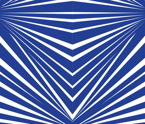 OFFSET_STRIPE_COBALT fabric by silverkaos on Spoonflower - custom fabric