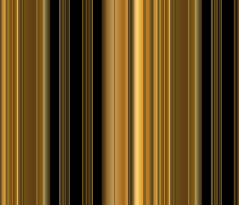 opulent_gold_stripe fabric by bluewrendesigns on Spoonflower - custom fabric