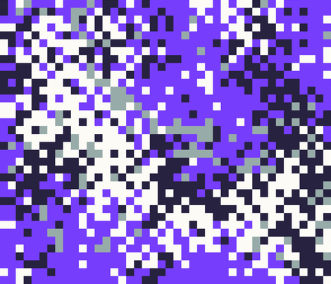 Latvian Digital Light Purple Camo fabric by ricraynor on Spoonflower - custom fabric