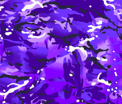 MTP Purple Camo fabric by ricraynor on Spoonflower - custom fabric