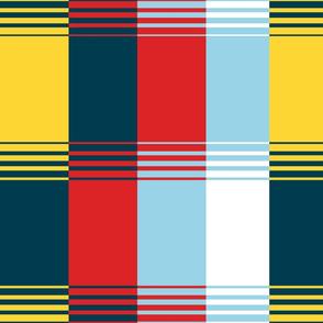 Bold Blocks Blanket Design