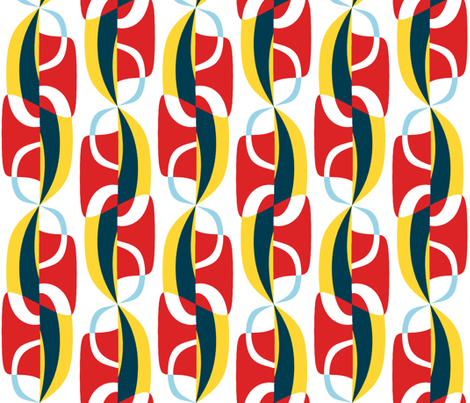 Unfurling Sails  fabric by elramsay on Spoonflower - custom fabric