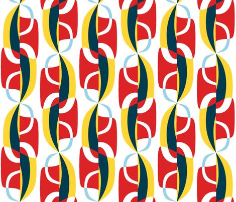 Unfurling Sails  fabric by elramsay on Spoonflower - custom fabric