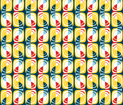 Sailing and Sunshine fabric by elramsay on Spoonflower - custom fabric
