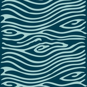 Water pattern - vector - seafoam175 dkblue195