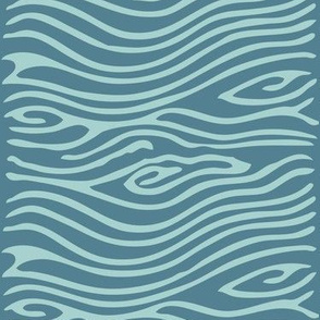 Water pattern - vector - seafoam175 midblue195