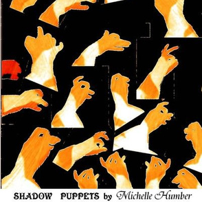 Shadow Puppets on Wood (3)