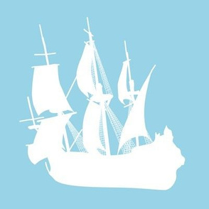 Arctic Explorers Sailing Ships