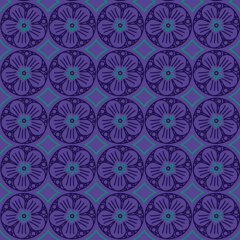 mew purplehaze fabric by alekat on Spoonflower - custom fabric