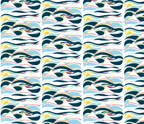 sailing3 fabric by jomag on Spoonflower - custom fabric