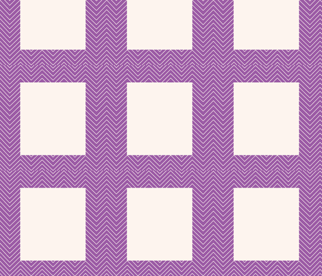 chevron_purple cheater quilt