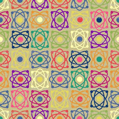Geek atomic floral