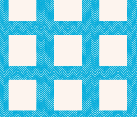 chevron_cheater quilt frame fabric by vos_designs on Spoonflower - custom fabric