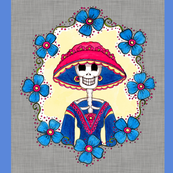 Mexican Catrina Amelia