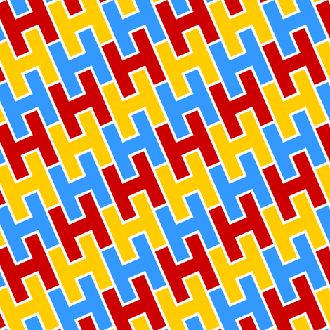 H2 fabric by sef on Spoonflower - custom fabric