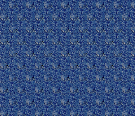 Blue Forest fabric by amyvail on Spoonflower - custom fabric
