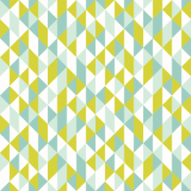 [triangle chips: mint aqua citron] fabric by cedesignstudios on Spoonflower - custom fabric