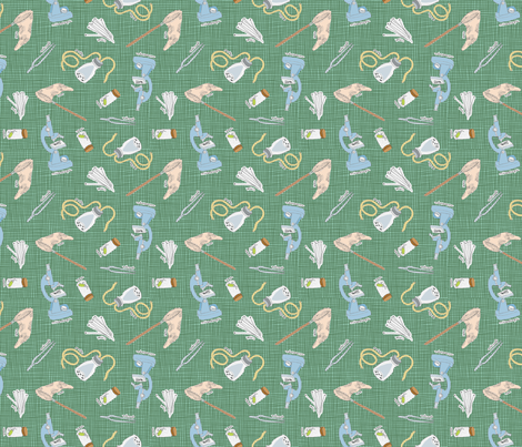 entotools fabric by darcibeth on Spoonflower - custom fabric