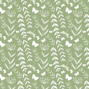 Wild Flowers - Green   www.alexcolombo.com