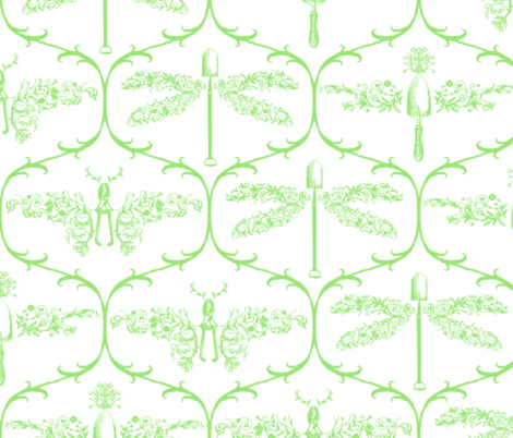 Animal Vegetable AND Mineral fabric by amazinart on Spoonflower - custom fabric