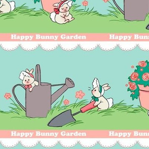 Happy Bunny Garden