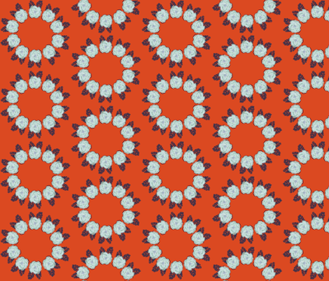 Ring Around the Roses fabric by alyssaray on Spoonflower - custom fabric