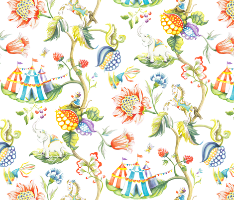 Urara Paradise fabric by karokarolinko on Spoonflower - custom fabric