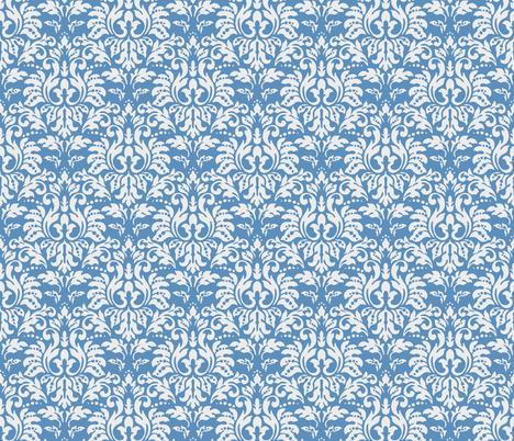 Ocean_Blue_Damask fabric by kelly_a on Spoonflower - custom fabric