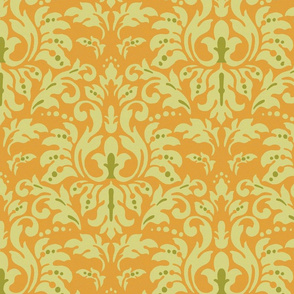 Pumpkin_Damask
