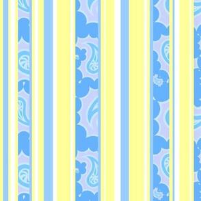 Swirled stripes, yellow