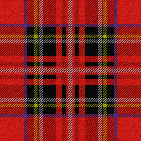 Royal Stewart Tartan fabric by peacoquettedesigns on Spoonflower - custom fabric