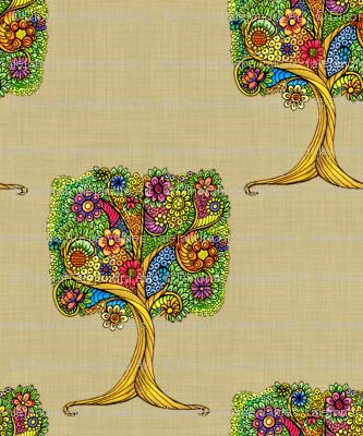 Tree _on_linen