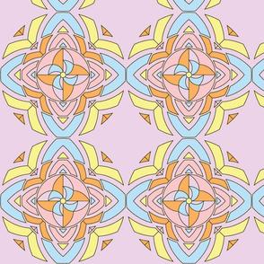 pinwheel kaleidoscope-pastel