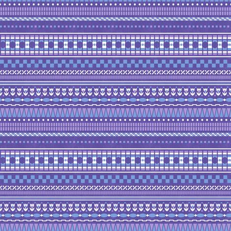 Bethany Multistripe fabric by siya on Spoonflower - custom fabric