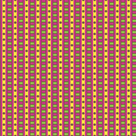 Gepetto Stripe fabric by siya on Spoonflower - custom fabric