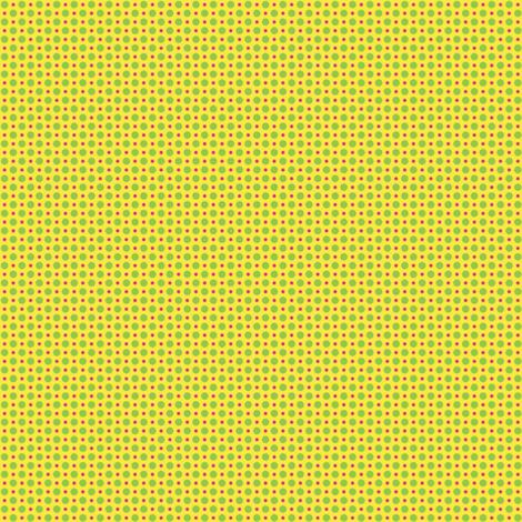 Gepetto Spots - Yellow fabric by siya on Spoonflower - custom fabric