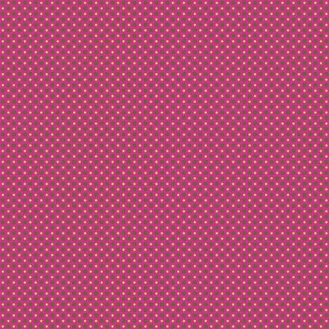 Gepetto Spots - Fuchsia fabric by siya on Spoonflower - custom fabric