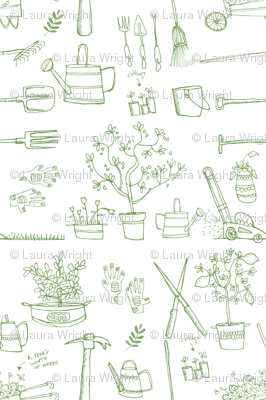 Giddy giddy garden tools