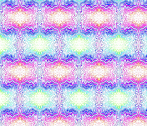 chevron_swirl_pastel rainbow fabric by vos_designs on Spoonflower - custom fabric