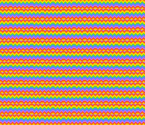 chevronrainbow fabric by vos_designs on Spoonflower - custom fabric